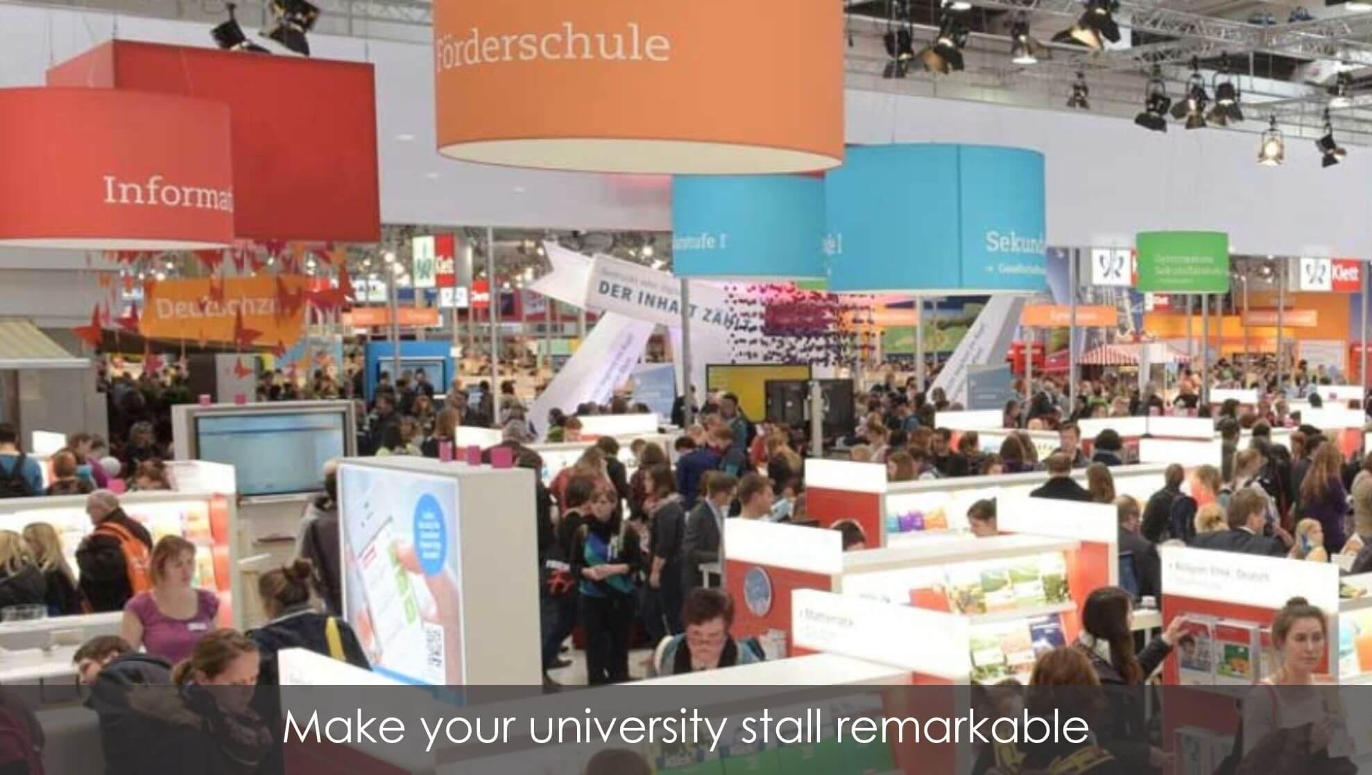 University stall ideas