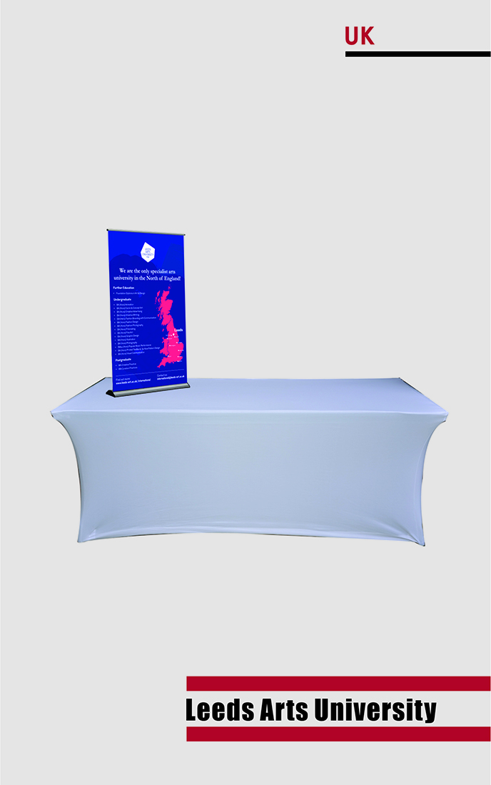 Table standee, recruitment, cost-effective,
