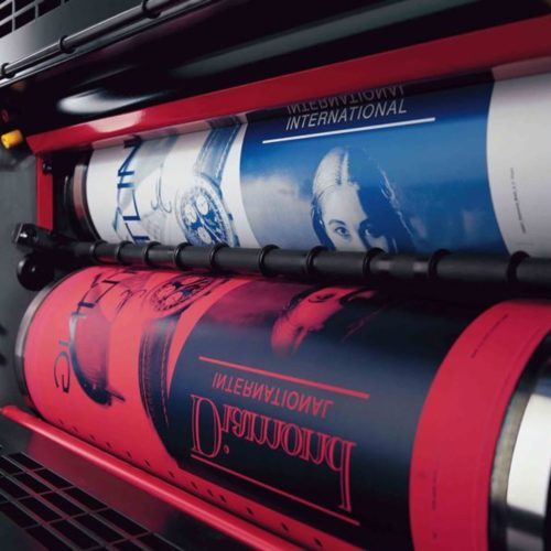 Printing overseas, Machine