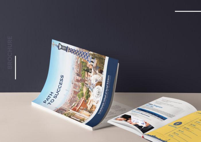Castelldefels School of Social Sciences, brochure, cost effective, Hue. Students,