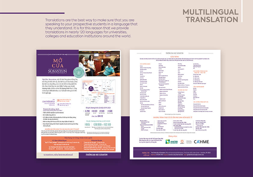 Multilingual Translation Brochure