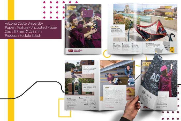 Arizona state university, hue, printing, designing, cost effective