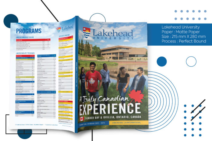 Lakehead, print, hue, cost effective, global shipping.