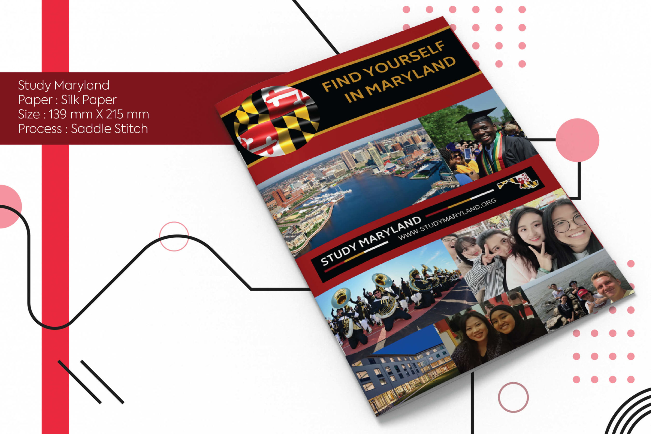 Study Maryland, cost effective printing, offset printing, digital printing, global shipping,