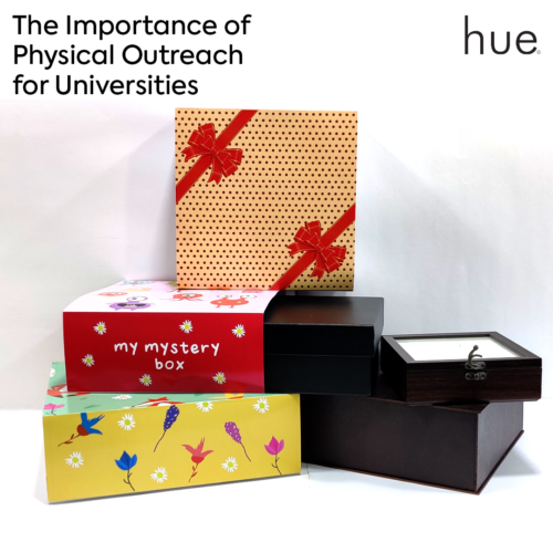 The Importance of Physical Outreach for Universities, pandemic, covid-19, box,