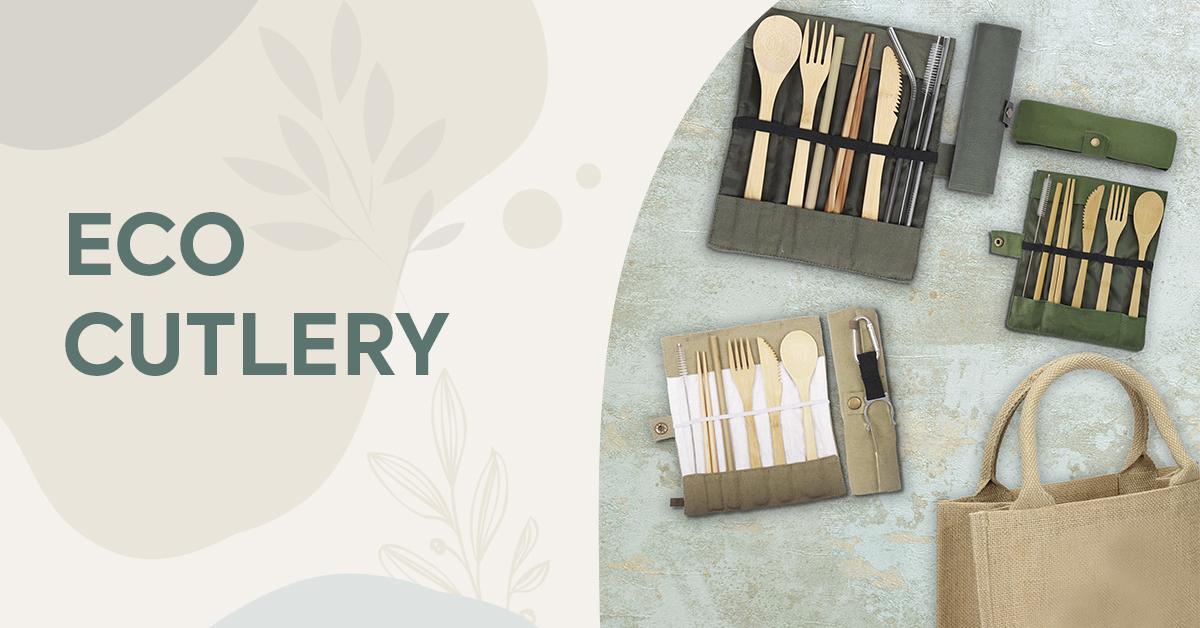 Eco Web Banner Cutlery