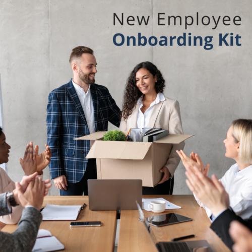 employee, new employee, onboarding, gift, kit, startup kit