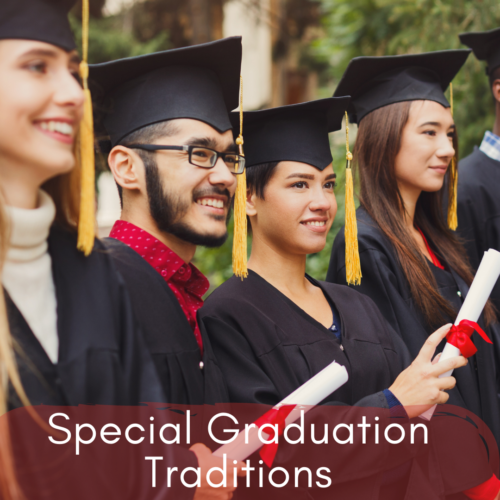 Unique traditions, graduation kits, pandemic 2021, Hue Marcom,