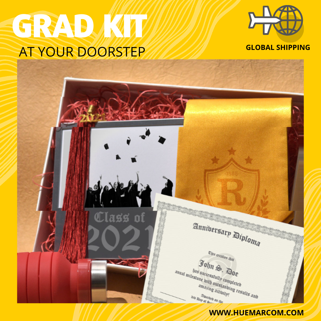 Customized Graduation Kits, universities, graduation gown, merchandise, graduation gown, tassel